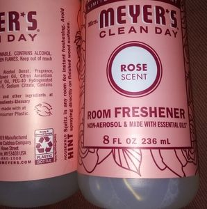 2pc Mrs. Meyers Rose🌹 Room Scent